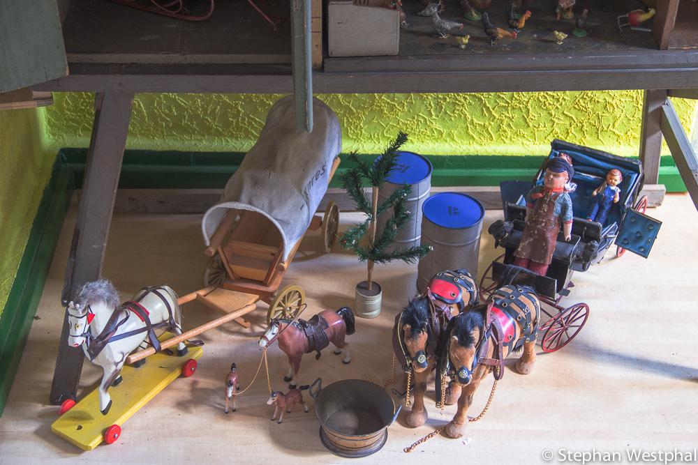 Spielzeugausstellung: Kutschen