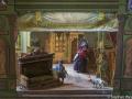 Spielzeugausstellung: Marionettenthater um 1900