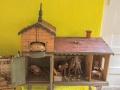 Spielzeugausstellung: Bauernhaus um 1900